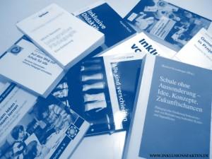 Bücher für die Weiterbilldung ©Inklusionsfakten