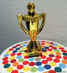 Pokal Inklusion ©Inklusionsfakten.de