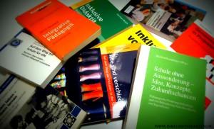 Bücher zum GU ©Inklusionsfakten