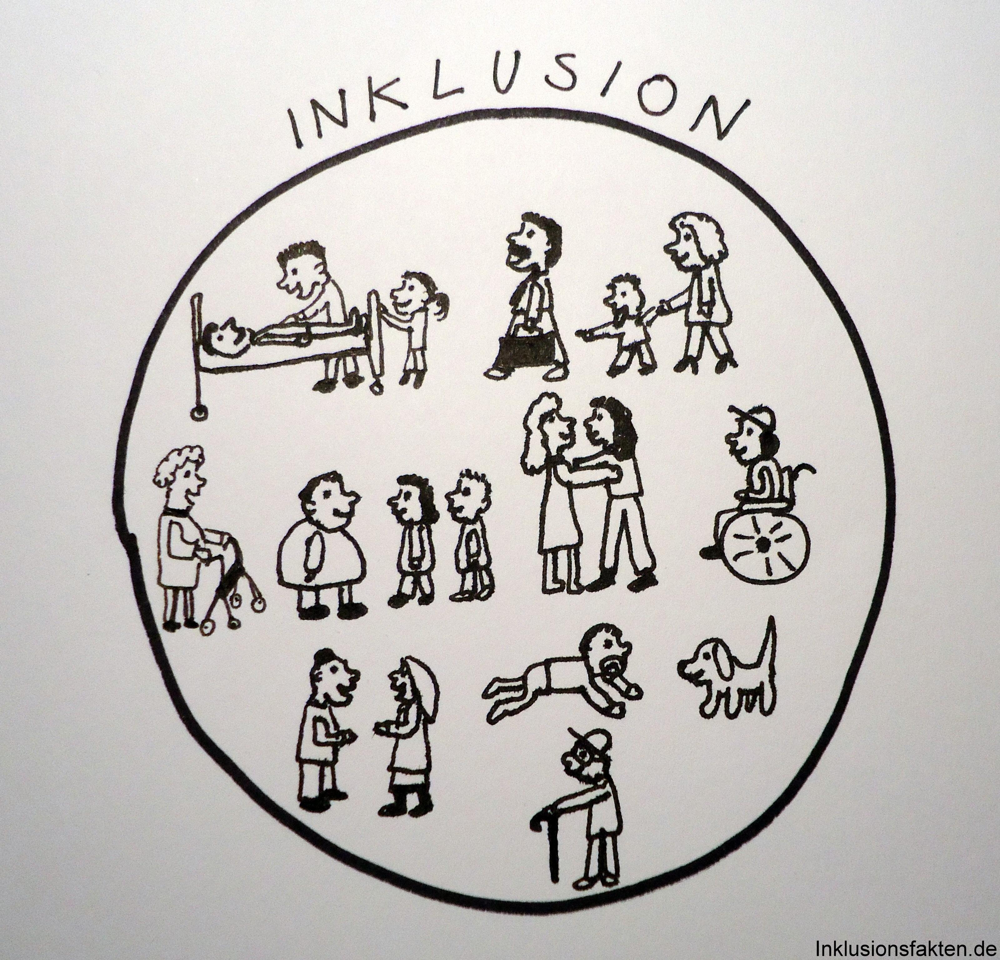 Die nichtbehinderten Kinder werden durch den gemeinsamen Unterricht ...