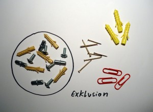 Exklusion ©Inklusionsfakten
