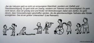 Vielfalt und Gleichberechtigung ©Inklusionsfakten