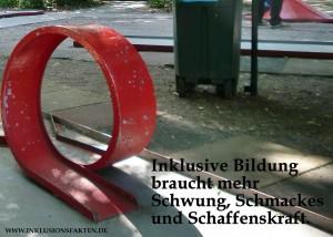 Inklusion bracuht Schwung ©Inklusionsfakten.de